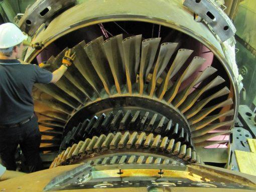 انجام اورهال توربین گازی V94.3 نیروگاه رودشور